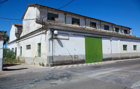Talleres. Minas de la Reunión. Villanueva del Río y Minas, Sevilla. Autor: JCC. Fuente: Minas de Sierra Morena. Los Colores de la Tierra. 2013.