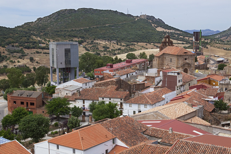 Minas de Almadén. Autor: JCC. Fuente: Minas de Sierra Morena. Los Colores de la Tierra. 2013