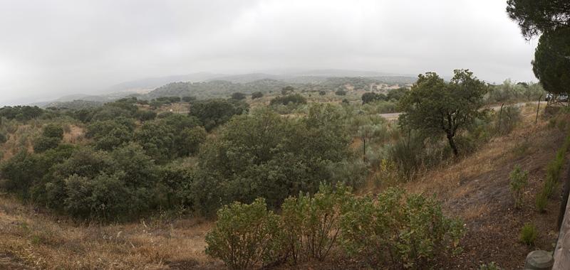 Entorno de la Mina La Jayona en Fuente del Arco, Badajoz. Autor: JCC. Fuente: Minas de Sierra Morena. Los Colores de la Tierra. 2012